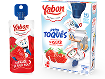Image - P'tits Toqués Strawberry flavored dairy products