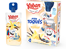Image - P'tits Toqués Vanilla flavored dairy products pouch
